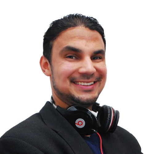 cropped DJ ANGEL ALBA self image Front Page