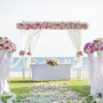 outdoor ceremony flower dj angel alba 150x150 About