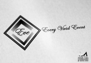 eve logo design Dj Entertainment